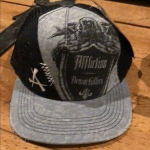 Other - Affliction baseball cap